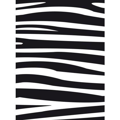 Darice Hintergrund-Prägeschablone - Zebra Pattern