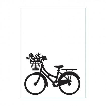 Darice Hintergrund-Prägeschablone - Bike