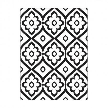 Darice Hintergrund-Prägeschablone - Tile Pattern