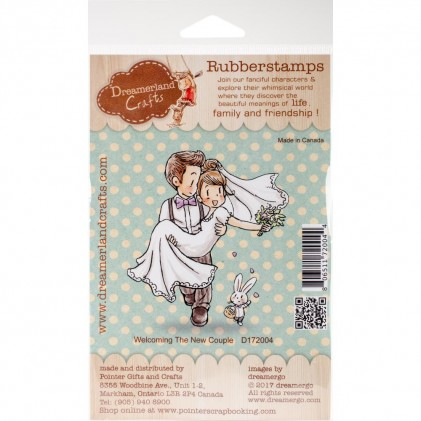Dreamerland Crafts Cling Stamps - Welcoming The New Couple