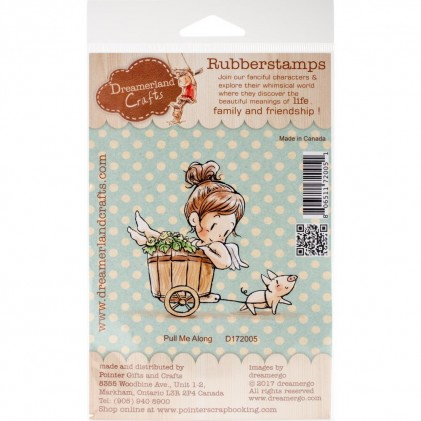Dreamerland Crafts Cling Stamps - Pull Me Along