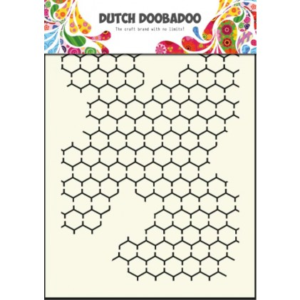 Dutch Doobadoo Mask Art Stencil A5 - Maschendraht