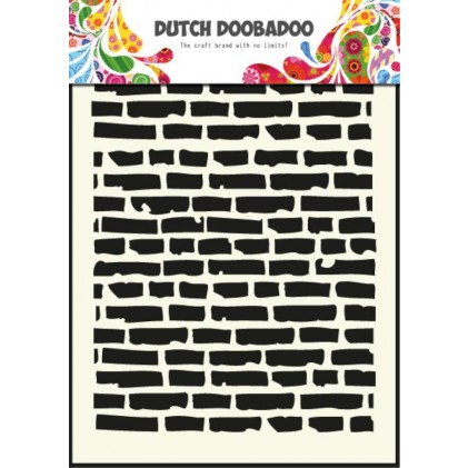 Dutch Doobadoo Mask Art Stencil A5 - Steine