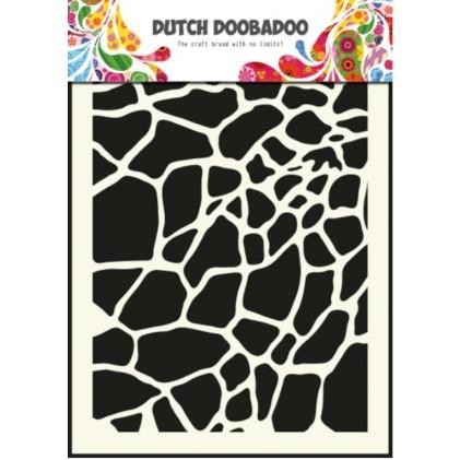 Dutch Doobadoo Mask Art Stencil A5 - Giraffe