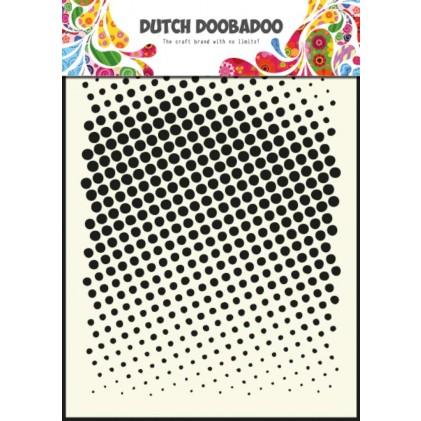 Dutch Doobadoo Mask Art Stencil A5 - Faded Dots