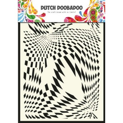 Dutch Doobadoo Mask Art Stencil A5 - Pop Art