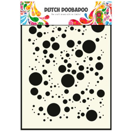 Dutch Doobadoo Mask Art Stencil A5 - Bubbles