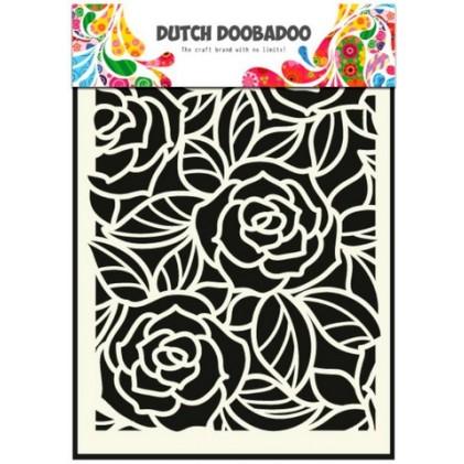 Dutch Doobadoo Mask Art Stencil A5 - Große Rosen