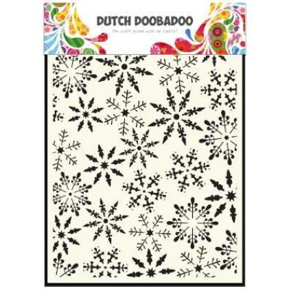 Dutch Doobadoo Mask Art Stencil A5 - Eiskristalle