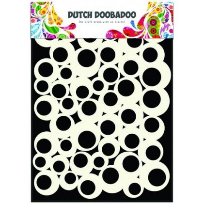 Dutch Doobadoo Mask Art Stencil A5 - Bubbles 2