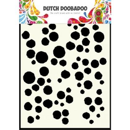 Dutch Doobadoo Mask Art Stencil A5 - Grunge Dots