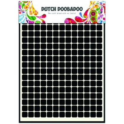 Dutch Doobadoo Mask Art Stencil A5 - Patchwork