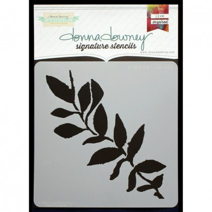 Donna Downey Stencil - Single Stem