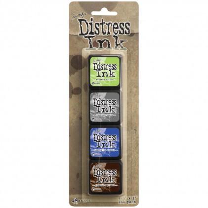 Distress Mini Ink Stempelkissen Kit #14