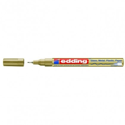 Edding 780 Paintmarker - fein, gold, 0,8 mm