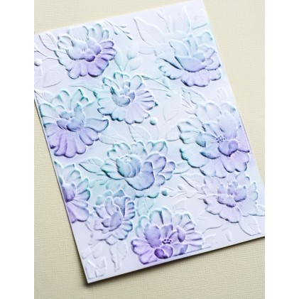 Memory Box 3D Prägeschablone - Blooming 3D Embossing Folder