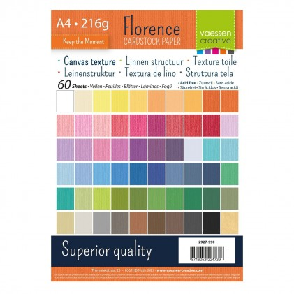 Florence Leinenkarton Multipack A4 60 Blatt