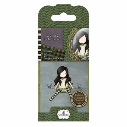 Gorjuss Collectable Rubber Stamp - Santoro - No. 12 On Top Of The World