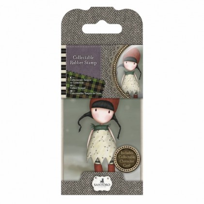 Gorjuss Collectable Rubber Stamp - Santoro - No. 19 Holly