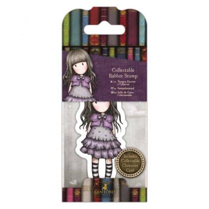 Gorjuss Collectable Rubber Stamp - Santoro - No. 32 Little Violet