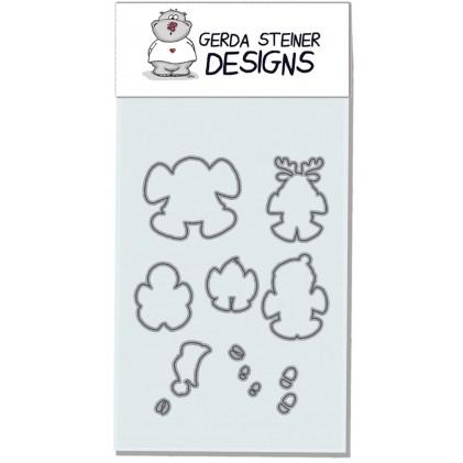 Gerda Steiner Design - Snow Angel Stanzschablonen-Set