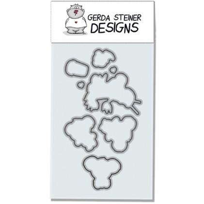 Gerda Steiner Design - You're Koalafied Stanzschablonen-Set