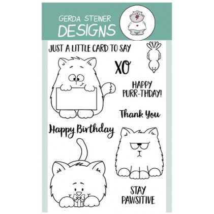 Gerda Steiner Design Clear Stamps - All Cats