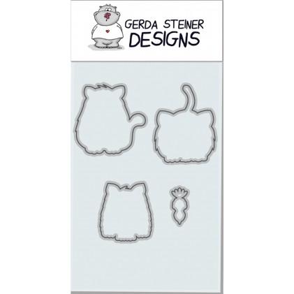 Gerda Steiner Designs - All Cats Stanzschablonen-Set