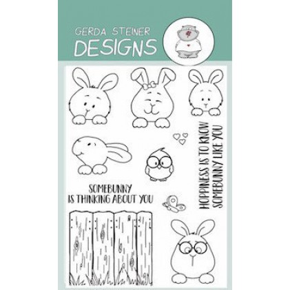 Gerda Steiner Design Clear Stamps - Hoppiness