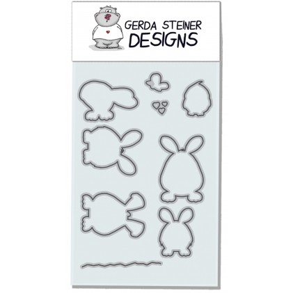 Gerda Steiner Design - Hoppiness Stanzschablonen-Set