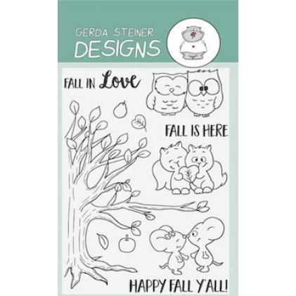 Gerda Steiner Designs Clear Stamps - Fall in Love