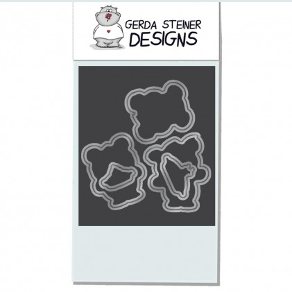Gerda Steiner Designs - More than Pie Stanzschablonen-Set