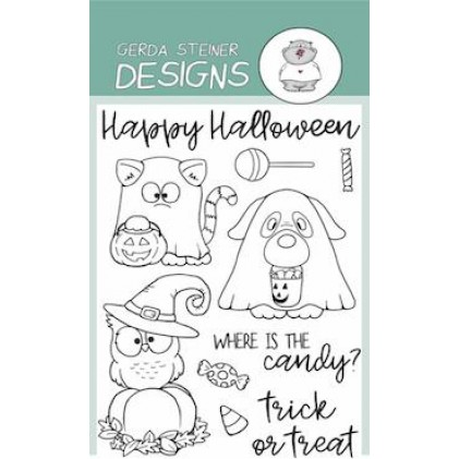 Gerda Steiner Designs Clear Stamps - Where is the Candy?