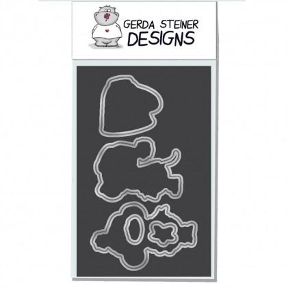 Gerda Steiner Designs - Smell like Christmas Stanzschablonen-Set