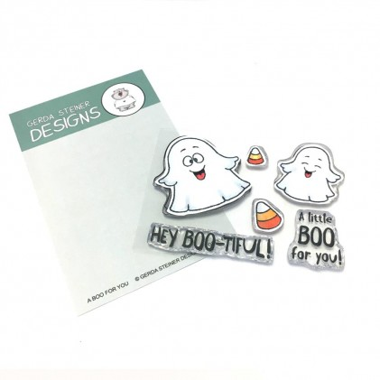 Gerda Steiner Designs Clear Stamps - A Little Boo For You