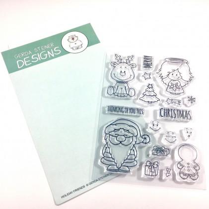 Gerda Steiner Designs Clear Stamps - Holiday Friends