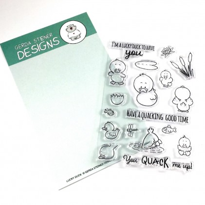 Gerda Steiner Designs Clear Stamps - Lucky Duck