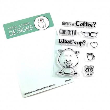 Gerda Steiner Designs Clear Stamps - Gopher it!