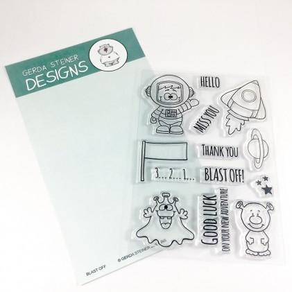 Gerda Steiner Designs Clear Stamps - Blast Off