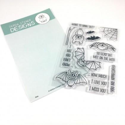 Gerda Steiner Designs Clear Stamps - Bats