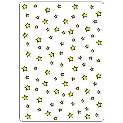 Crafts Too Hintergrund-Prägeschablone - Stars CT
