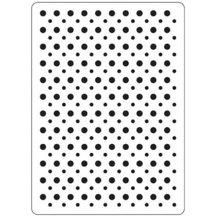 Crafts Too Hintergrund-Prägeschablone - Spots