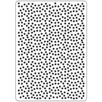 Crafts Too Hintergrund-Prägeschablone - Polka Dots