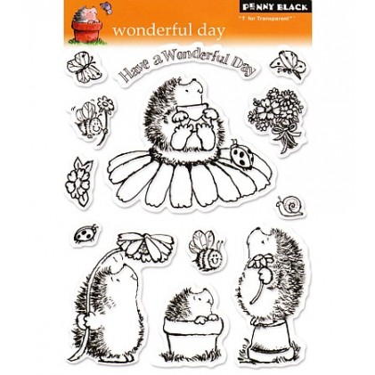 Penny Black Clear Stamps - Wonderful Day