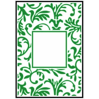 Crafts Too Hintergrund-Prägeschablone - Floral Frame