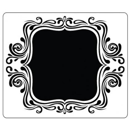 Crafts Too Hintergrund-Prägeschablone - Fancy Frame