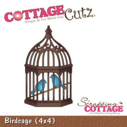 CottageCutz Stanze - Birdcage (4x4)