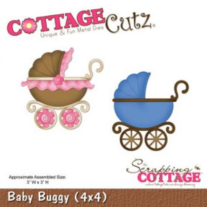 CottageCutz Stanze - Baby Buggy (4x4)