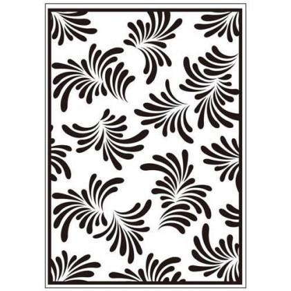 Crafts Too Hintergrund-Prägeschablone - Petals
