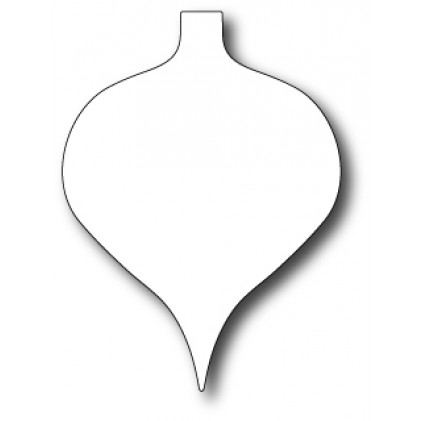 Memory Box Stanzschablone - Drop Ornament
